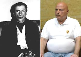 In una combo Graziano Mesina (a sinistra in una foto rilasciata nell'agosto del 1976).  ANSA