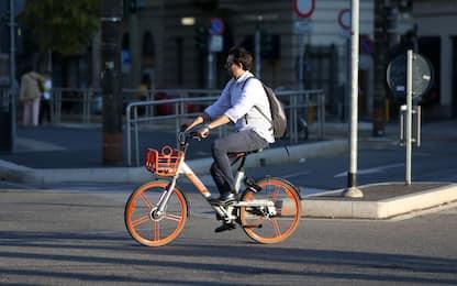 Bike sharing a livelli pre-Covid, ma italiani poco soddisfatti. FOTO