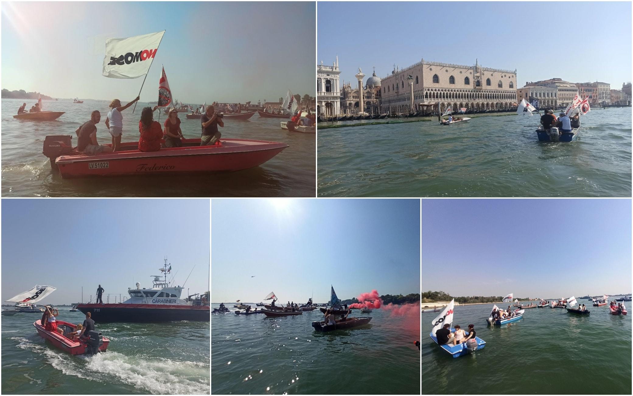 Mose, Venezia, proteste