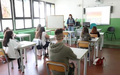 Covid-19, test rapidi a scuola per lo screening: via libera dal Cts