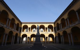 PAVIA, ITALY - JANUARY 05:  A general view of the university of Pavia on January 5, 2012 in Pavia, Italy. Pavia is a town of the Lombardy region, northern Italy. The university of Pavia is renowned as one of the oldest universities in Europe, founded in 1361.  (Photo by Vittorio Zunino Celotto/Getty Images)