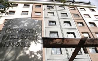 UNIVERSITA' DEGLI STUDI DI FOGGIA  (Vincenzo Maizzi/Fotogramma, FOGGIA - 2008-11-12) p.s. la foto e' utilizzabile nel rispetto del contesto in cui e' stata scattata, e senza intento diffamatorio del decoro delle persone rappresentate