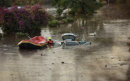 Palermo, nubifragio si abbatte sulla città: auto sommerse. FOTO