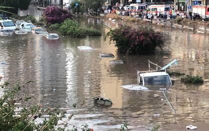 Nubifragio Palermo, i danni dell'alluvione. FOTO