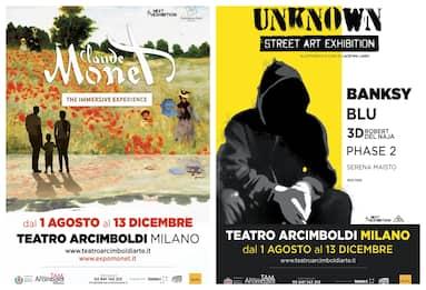 Milano, il Teatro degli Arcimboldi riapre con due mostre FOTO