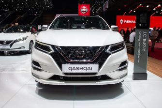 GENEVA, SWITZERLAND - MARCH 06: Nissan Qashqai is displayed during the second press day at the 89th Geneva International Motor Show on March 6, 2019 in Geneva, Switzerland. (Photo by Robert Hradil/Getty Images)