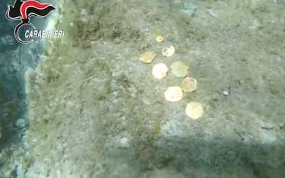 "Sardegna, ""tesoro"" antico recuperato dai sub dei carabinieri. VIDEO"