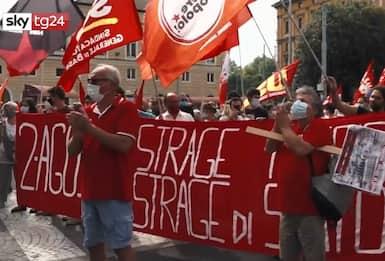 Strage di Bologna, il minuto di silenzio nel 40/o anniversario. VIDEO