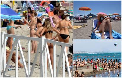 Coronavirus, italiani al mare dimenticano regole: pochi con mascherine