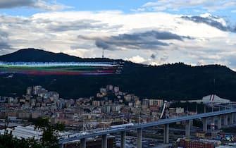 L'inaugurazione del Ponte di Genova