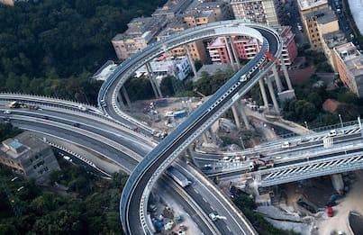 Ponte Genova, oggi l'inaugurazione con Mattarella e Conte