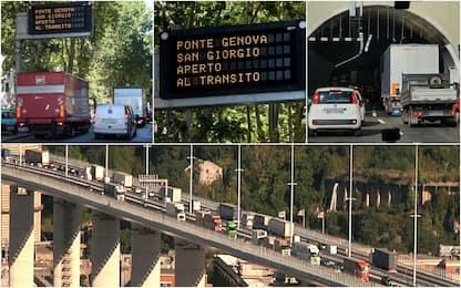 Genova, code su ponte San Giorgio: traffico e rallentamenti per foto