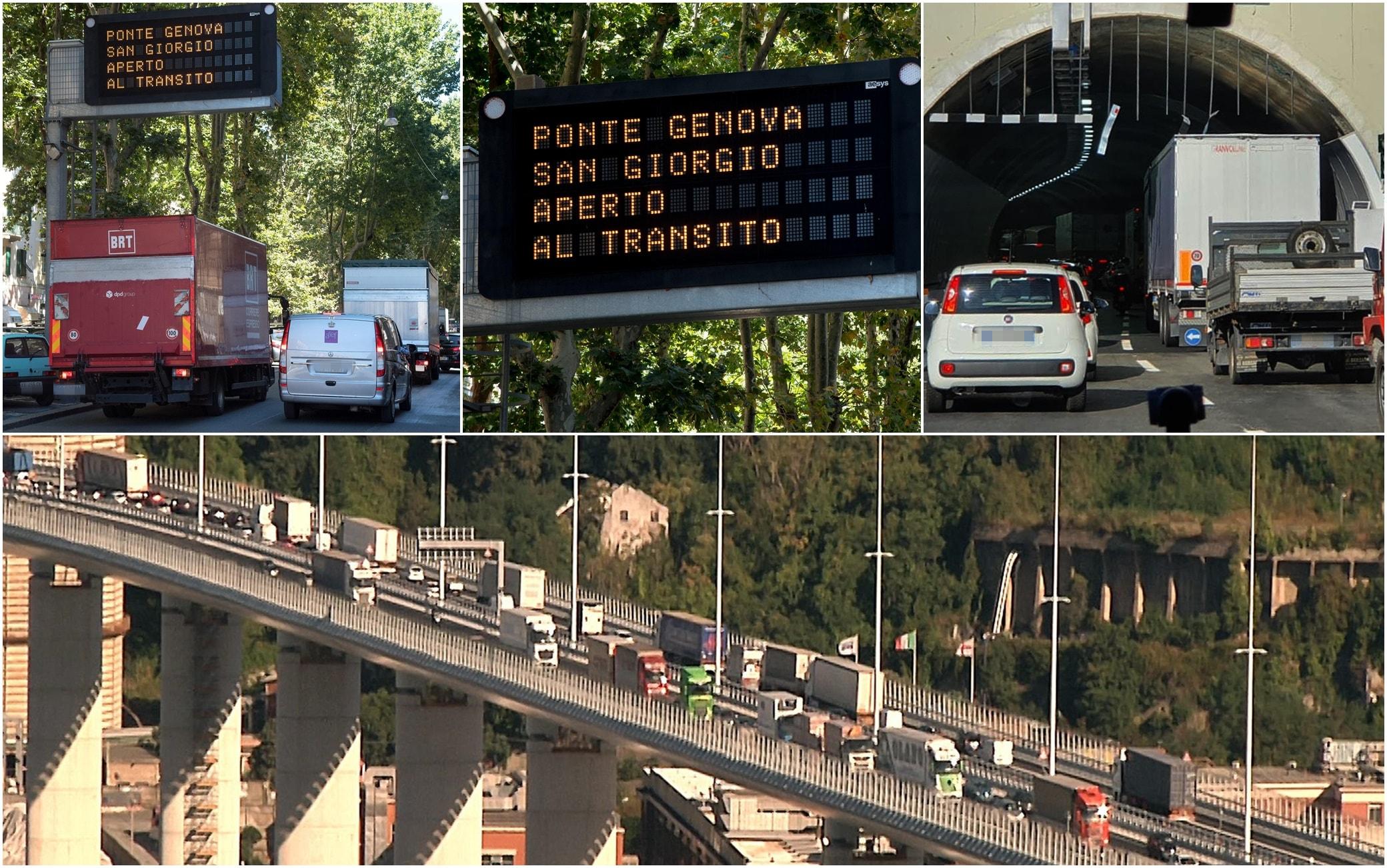 Ponte San Giorgio, Genova, code