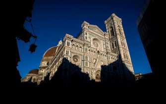 FLORENCE, ITALY - JUNE 24:  The exterior of Florence's Cathedral, Basilica di Santa Maria del Fiore, otherwise known as the Duomo on June 24, 2015 in Florence, Italy. The Duomo is the main church of the city of Florence. Construction was started in 1296 in the Gothic style with the structure completed in 1436. The famous dome was engineered by Filippo Brunelleschi.  (Photo by Justin Setterfield/Getty Images)