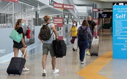 Coronavirus Roma, aree per tamponi in aeroporti Fiumicino e Ciampino