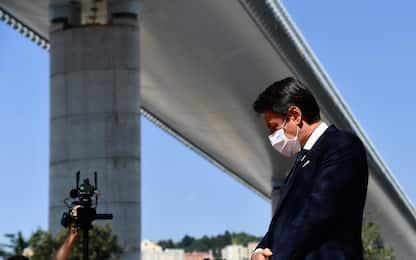Genova, due anni fa crollava Ponte Morandi. Conte alla commemorazione