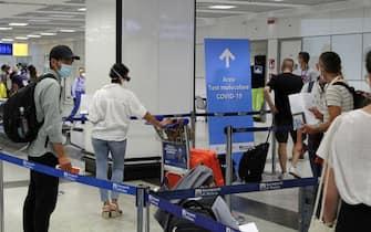 Coronavirus: a Fiumicino e Ciampino 30 mila test rapidi Aeroporto di Roma Leonardo da Vinci