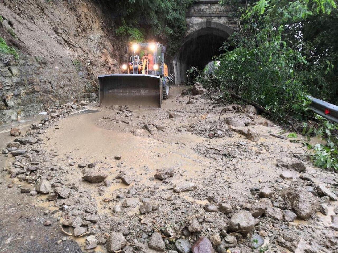 I danni del maltempo in Alto Adige