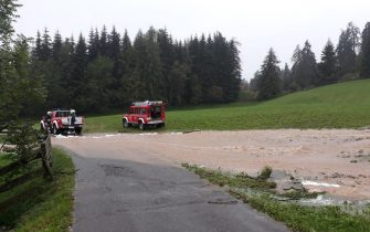 maltempo alto adige Credit: Vigili del fuoco Alto Adige