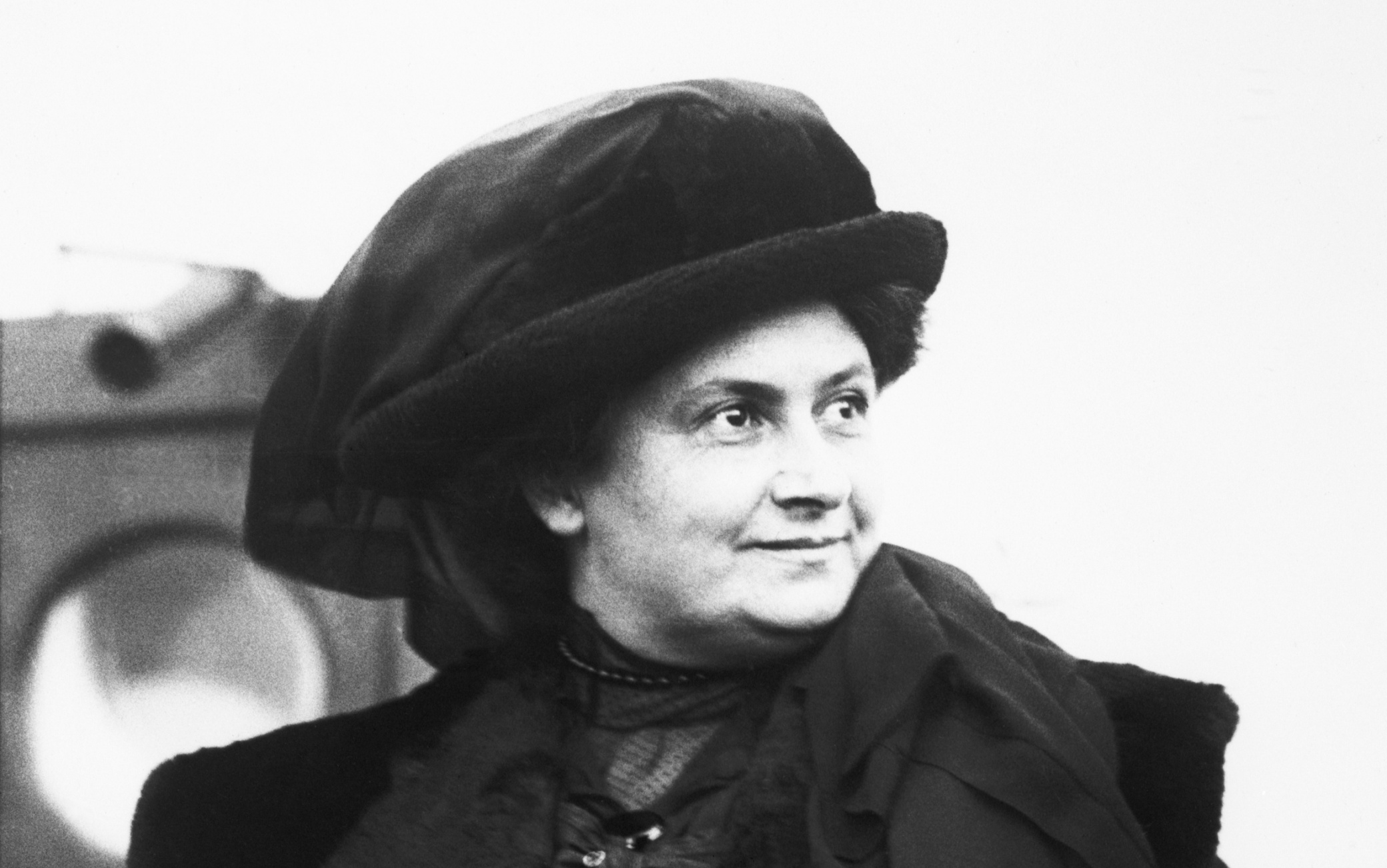 Maria Montessori, educator.  1913