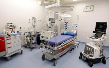 La nuova Terapia Intensiva all'Ospedale Sacco durante l'emergenza Coronavirus a Milano, 29 maggio 2020.ANSA/Mourad Balti Touati