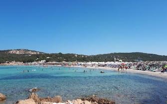 Una spiaggia della Costa Smeralda, in Sardegna