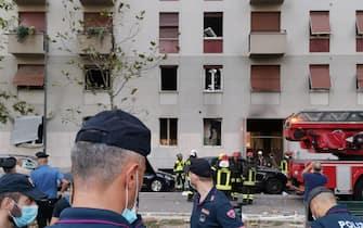 milano esplosione piazzale libia