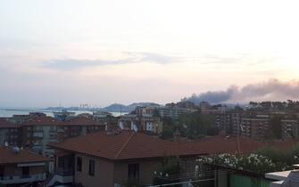 Incendio Ancona Porto