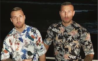 I fratelli Bianchi nelle foto sui social