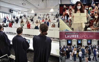 Coronavirus, al Politecnico di Milano tornano le lauree in presenza