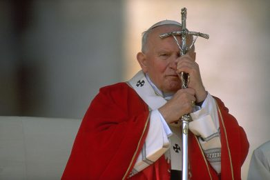 Duomo di Spoleto, rubate le reliquie di Papa Giovanni Paolo II