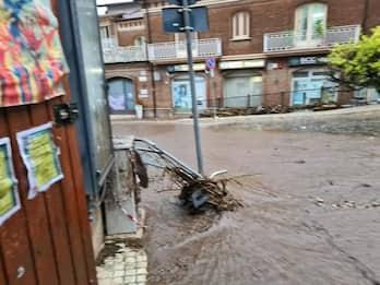 Maltempo in Campania, fiume di fango a Monteforte Irpino