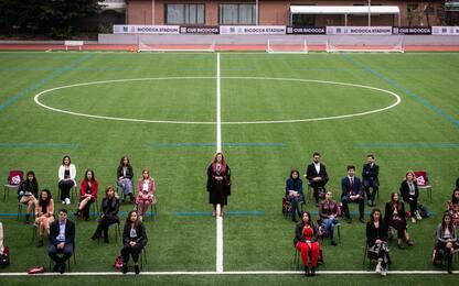 Lauree e Covid, proclamazioni allo stadio per l'ateneo Milano Bicocca
