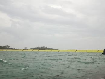 Acqua alta a Venezia, bloccata dal Mose per la seconda volta