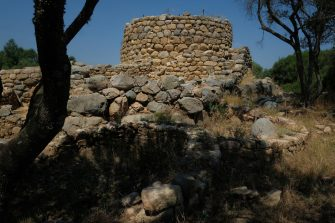ARZACHENA, ITALY - JULY 26:  The ancient site of Nuraghe La Prigiona stands on July 26, 2018 on the island of Sardinia near Arzachena, Italy. Sardinia is a popular summer tourist destination.  (Photo by Sean Gallup/Getty Images)