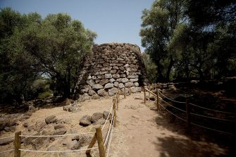 SANTA CRISTINA, ITALY - JULY 09:  Nuraghe of St. Cristina. The nuraghe is the main type of megalithic edifice found in Sardinia, developed during the Nuragic Age between 1900-730 AC on July 09, 2012 Province of Oristano, Italy.  (Photo by Massimo Di Nonno/Getty Images)