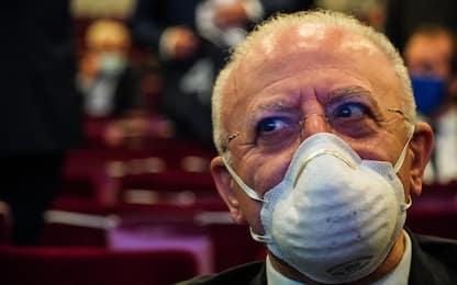 """Regione Campania, diretta di De Luca: """"Governo sta perdendo tempo"""""""
