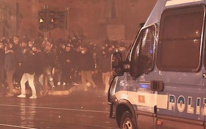 Covid: scontri a Palermo, polizia ferma due manifestanti