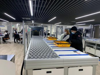 Aeroporto Milano Linate, le tecnologie per viaggi più sicuri. FOTO