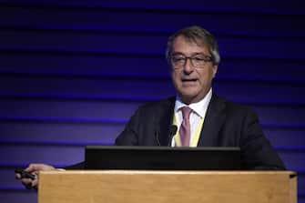 Nino Cartabellotta durante la Convention Fiaso 2018 a Palazzo dei Congressi all'Eur, Roma 08 Novembre 2018. ANSA / LUIGI MISTRULLI