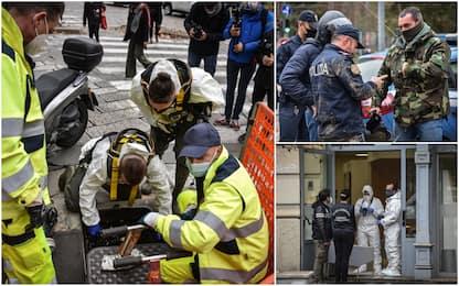 Milano, rapina con ostaggi in banca: malviventi scappano dalle fogne