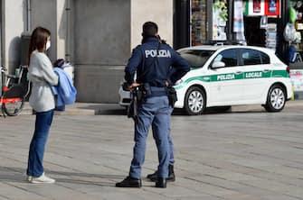 Foto Gian Mattia D'Alberto - LaPresse 06-11-2020 Milano Cronaca Milano in lockdown nella foto: piazza Duomo  Ph Gian Mattia D'Alberto - LaPresse 2020-11-06 Milan News lockdown in Milan in the photo: Duomo square