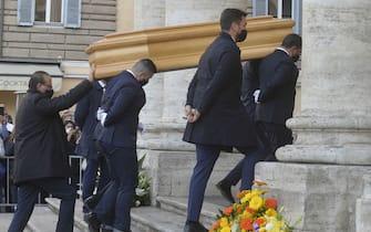 Funerali Stefano D'Orazio