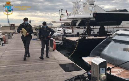 Spezia, pagati 4 euro l'ora per lavorare su yacht di lusso: 8 arresti