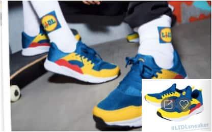 Lidl, code nei negozi di tutta Italia per le scarpe limited edition