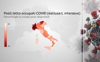 coronavirus grafiche dati ricoveri terapie intensive