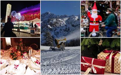 Covid, le ipotesi sulle regole per il Natale, dallo sci alle vacanze