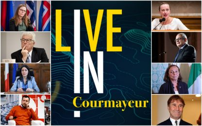 LIVE IN, gli ospiti del primo evento dal vivo di Sky TG24 a Courmayeur
