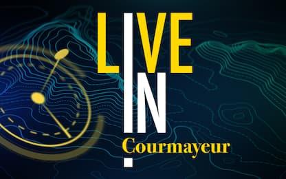LIVE IN, parte da Courmayeur la nuova avventura di Sky TG24