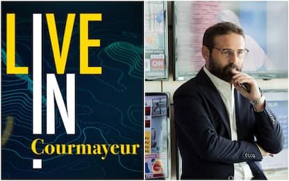 LIVE IN, Sky TG24 presenta il suo primo evento: si parte da Courmayeur